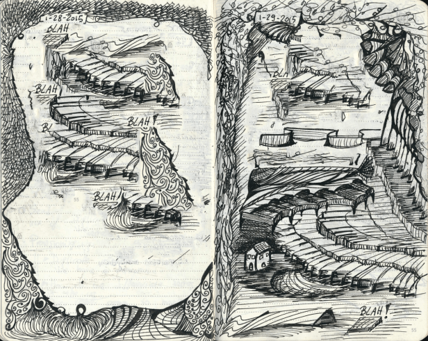 twopages Doodle Tuesday: Two Pages doodle art