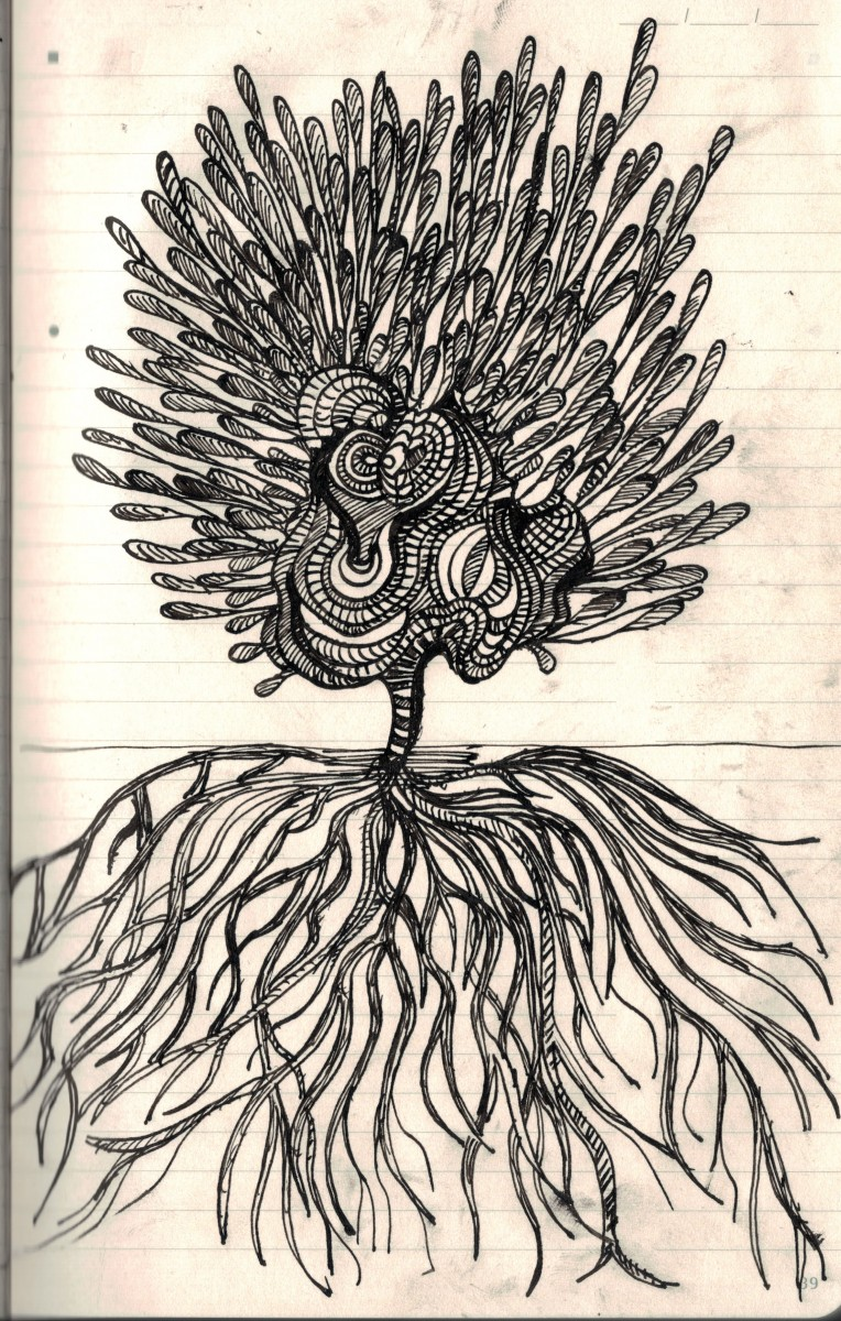 growth Doodle Tuesday: Growth doodle art