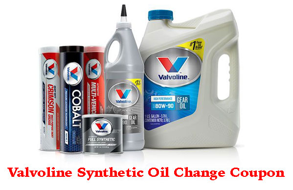 Valvoline Instant Oil Change Coupon