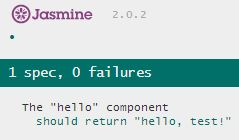 jasmine-success-test