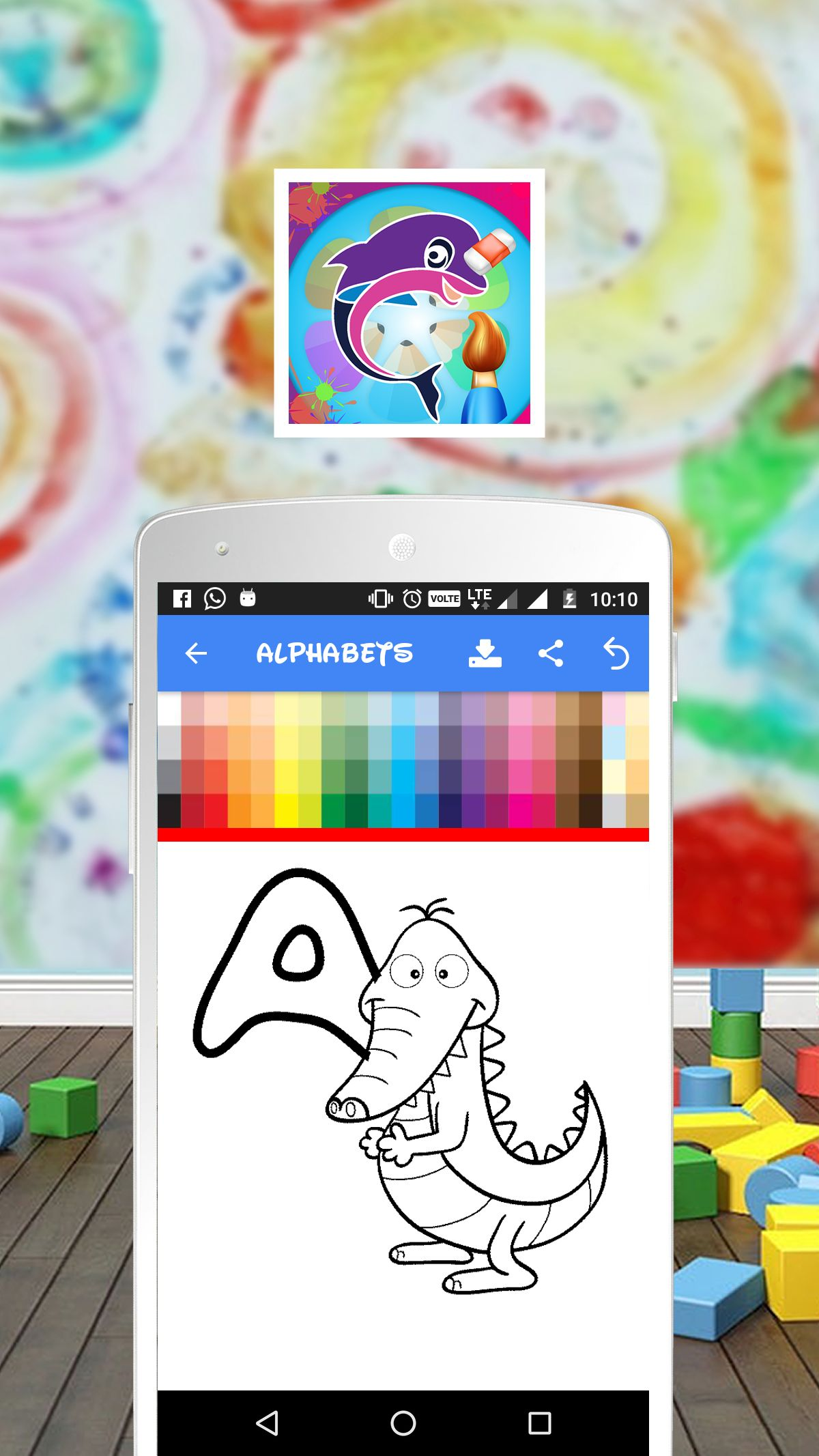 Coloring Book For Kids Android Source Code By V2ideas Codester