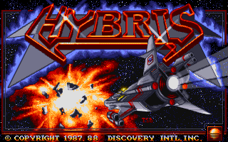 Hybris title screen
