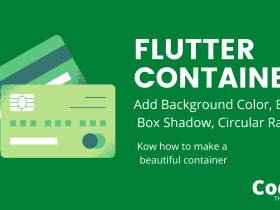Flutter Container implementation With Various Examples