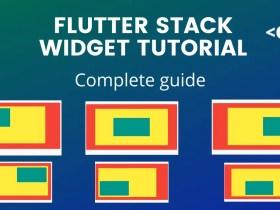 Flutter Stack Widget Tutorial