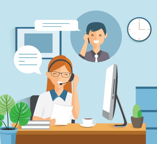Conversation marque client