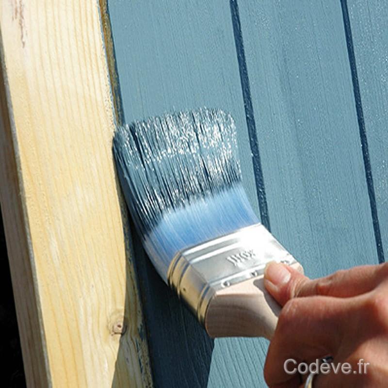 peinture bardage bois