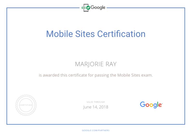 Marjorie-Ray-Codewryter-Mobile-Developer-Google-Certificate