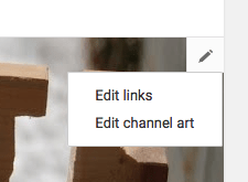 Edit Links in YouTube