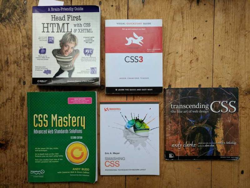 Great-CSS-Books