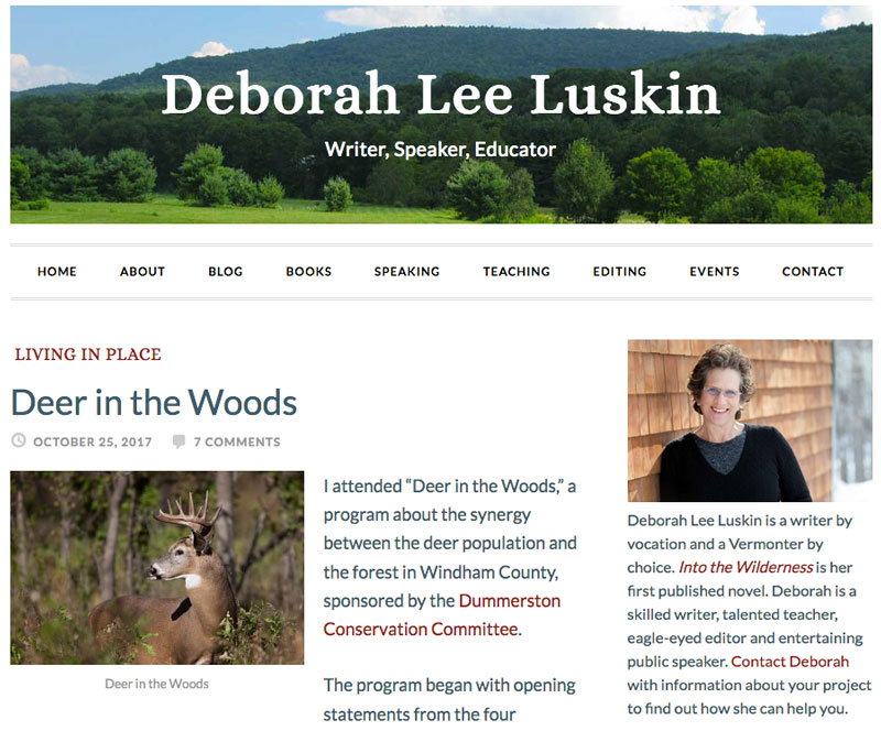 Deborah Lee Luskin website
