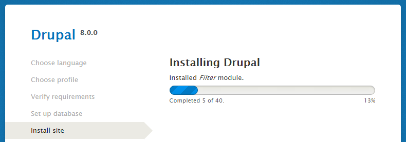 drupal-installation-tutorial-installation-progress-drupal-by-codexworld