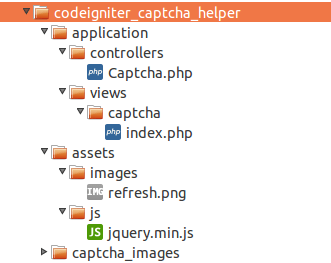 create-captcha-in-codeigniter-folders-files-structure-codexworld