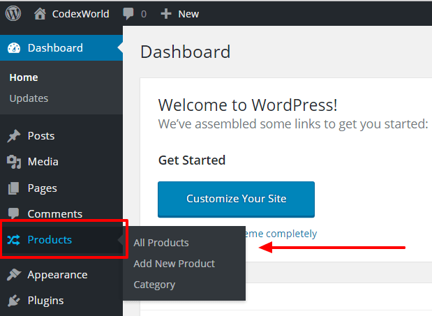 products-custom-post-type-wordpress-codexworld