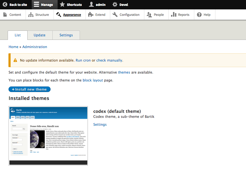 drupal-sub-theme-tutorial-install-default-codex-codexworld