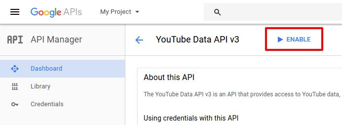 google-developer-console-enable-youtube-data-api-codexworld