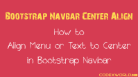 bootstrap-navbar-center-align-codexworld