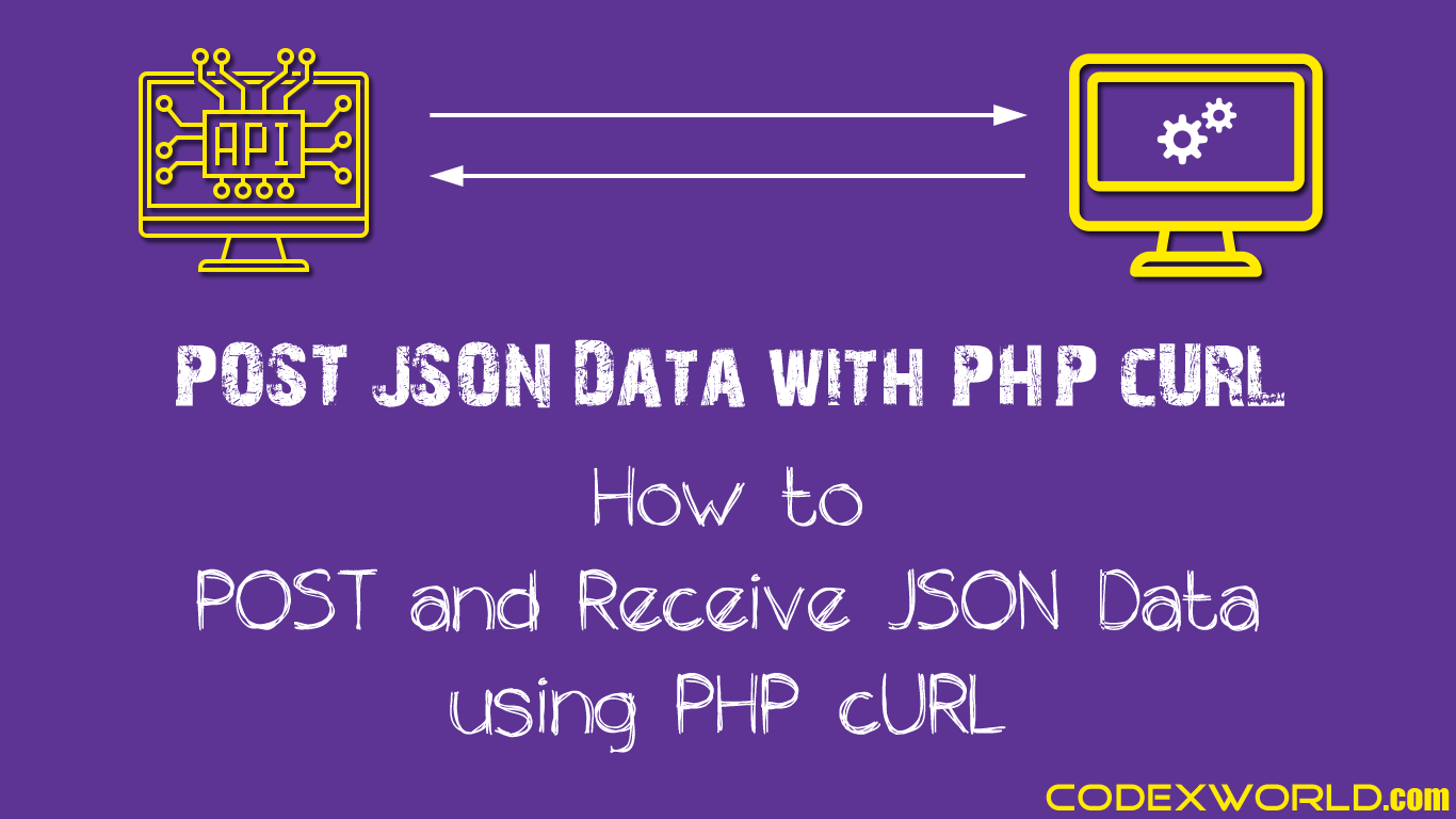 How to POST and Receive JSON Data using PHP cURL - CodexWorld