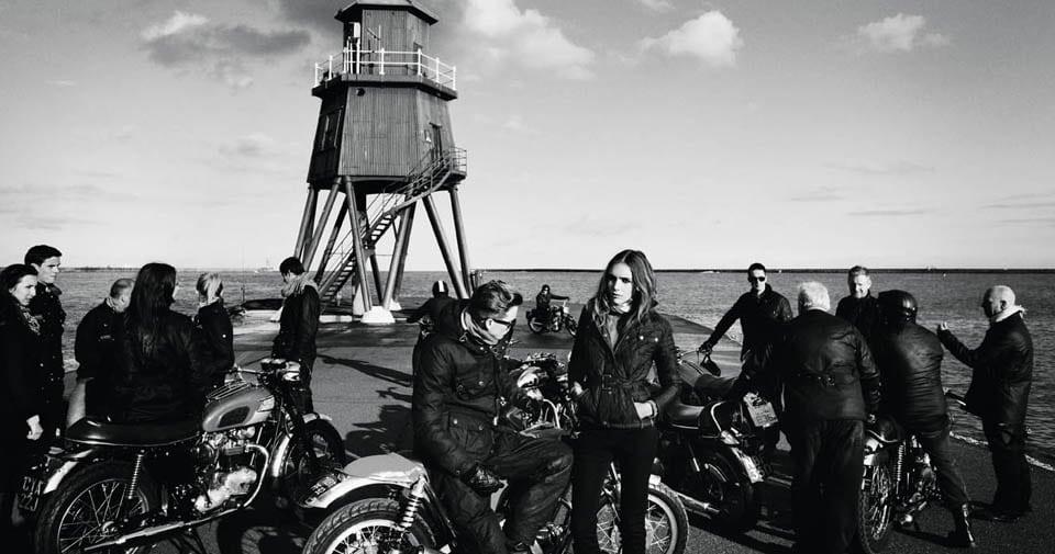 Avec Barbour, les marins et les motards ont eu la même veste
