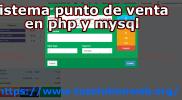 software punto de venta php y mysql
