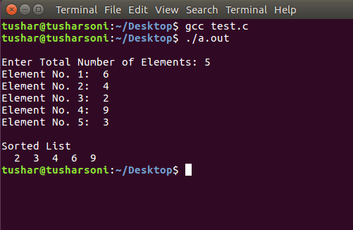 Implementation of Radix Sort in C using Linked List