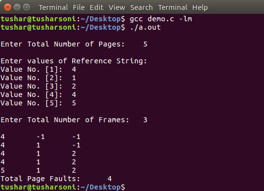 C Program To Implement FIFO Page Replacement Algorithm in OS