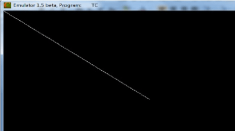 Implement DDA Line Drawing Algorithm in C Programming using Functions with Output and Explanation