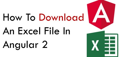 How To Export Data To Excel File in Angular 2 - Coding Faster