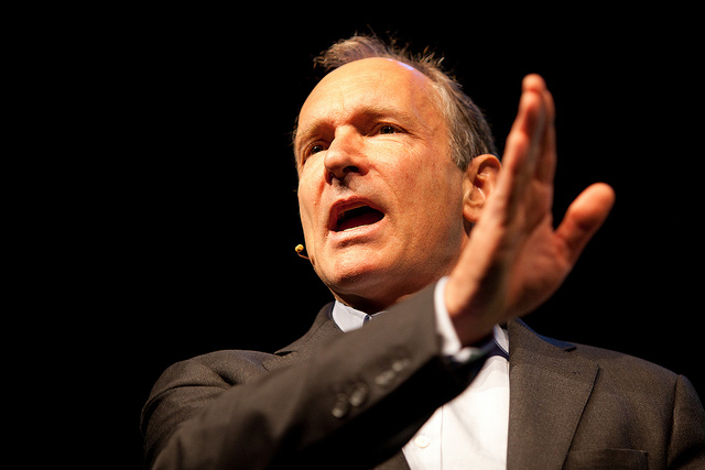 The great Sir Tim Berners-Lee