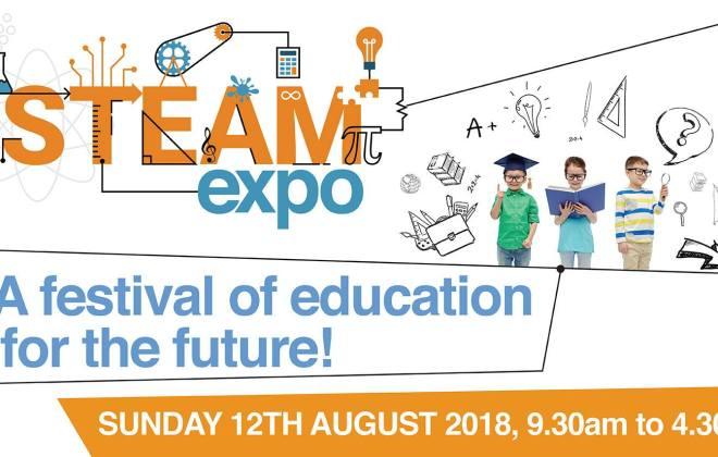 Coding kids steam expo