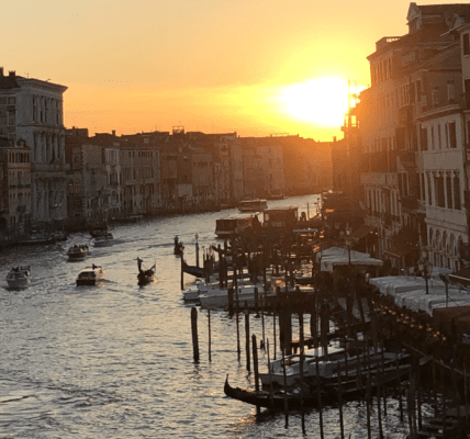 Venise sunset by Jean-Dominique Nguele