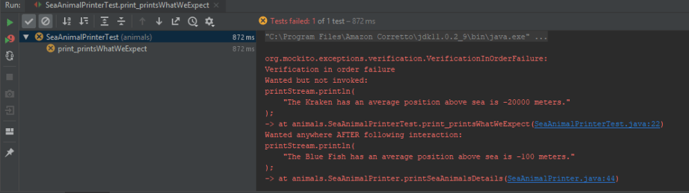 code refactoring swap fail