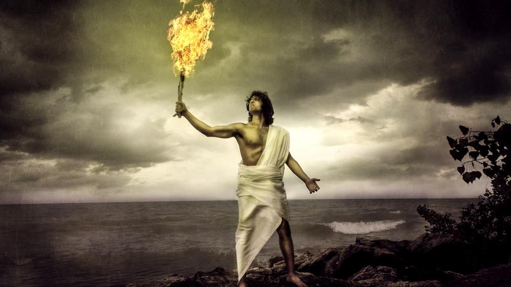 prometheus bringer of fire