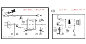 Simple Wireless Door Bell  Codrey Electronics