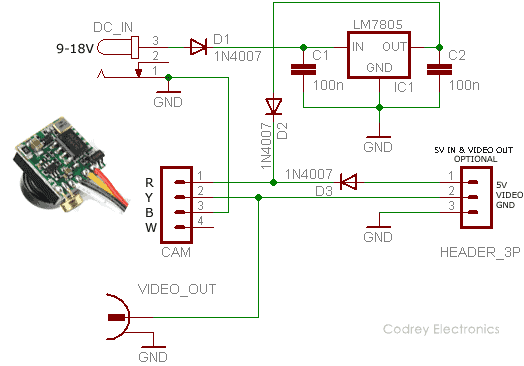 wiring diagram for spy cam  wiring diagram for a airplane