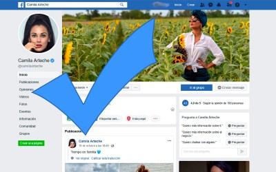 Facebook verifica página oficial de Camila Arteche