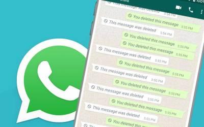 3 cosas a tener en cuenta antes de borrar un mensaje de WhatsApp