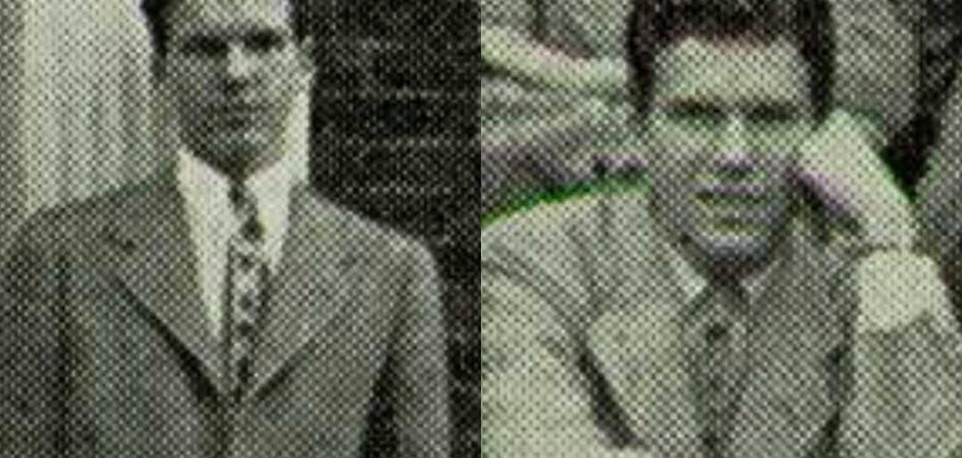 Harry Mathews, Groton, 1944, 1945