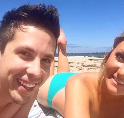 Cody Rodriguez and Lauren Blackwell in San Diego, California