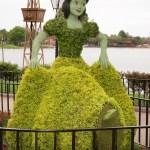 Snow-White-Topiary-Epcot-Flower-Garden-Festival