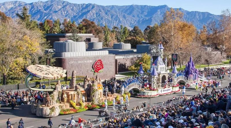 Disneyland at the Rose Parade