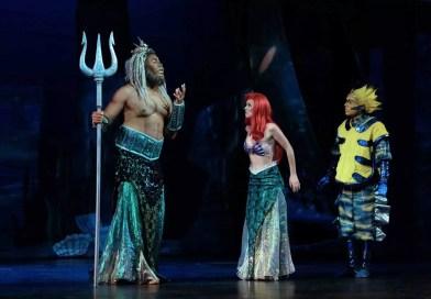 Disneys Little Mermaid Delights Guest at Moonlight