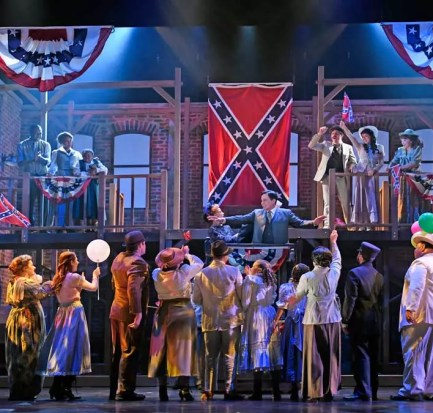 """The ensemble cast in the 3D Theatricals production of """"Parade"""""""