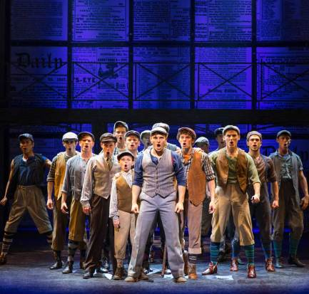 McCoy Rigby Entertainment Newsies at the La Mirada Performing Arts Center through June 24