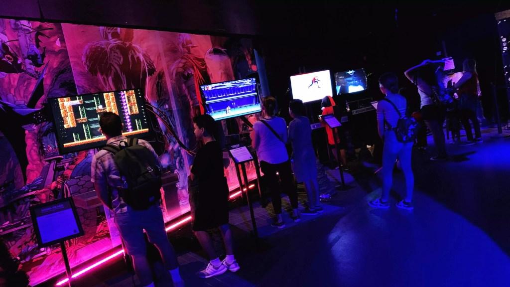Batcave Interactive Gaming Zone