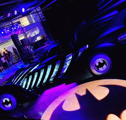 Batman Experience at Comic Con Museum at Balboa Park