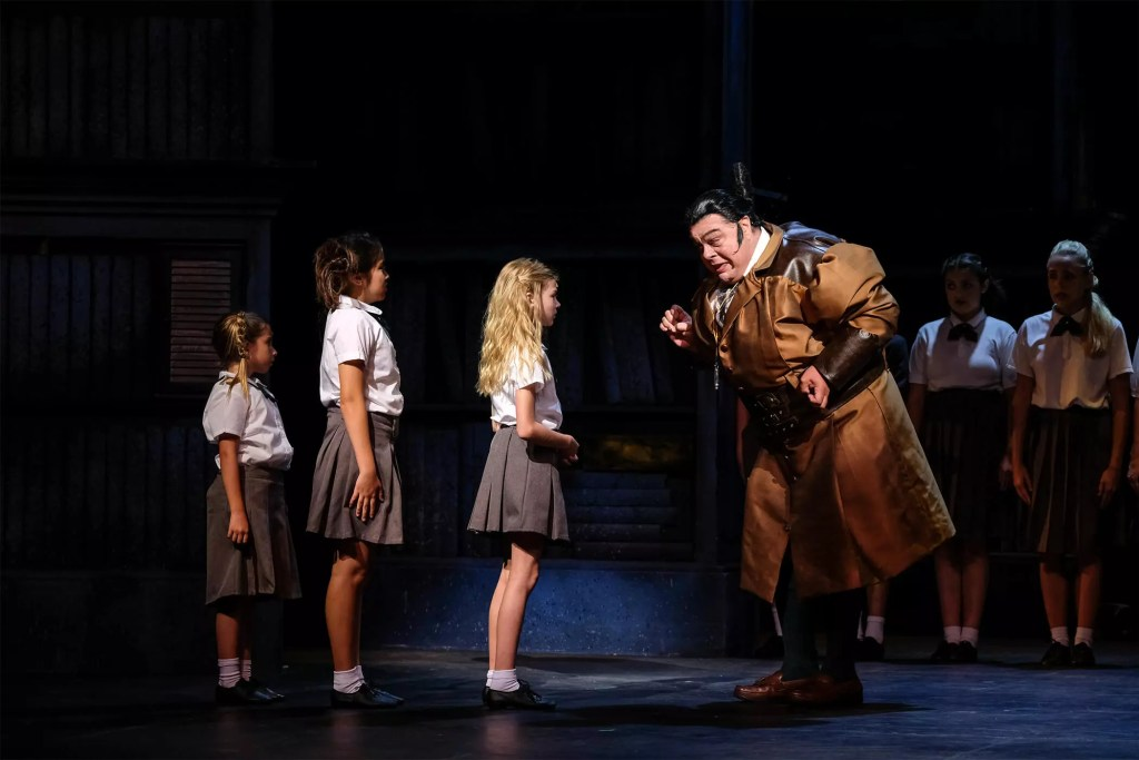 Matilda the Musical at Moonlight Stage Ampitheatre Cody Rodriguez Review