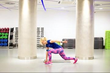 turbo trening codziennie fit trening spalający odchudzający