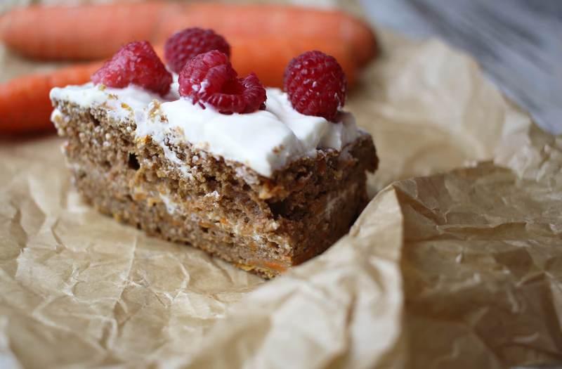 marchewkowe ciasto fit