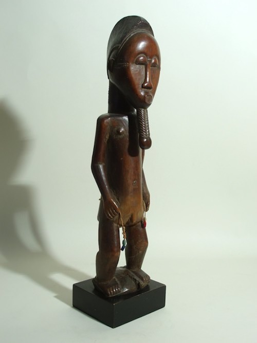 Baule figure from West Africa
