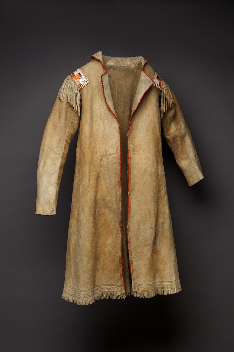 Cree coat from c. 1740